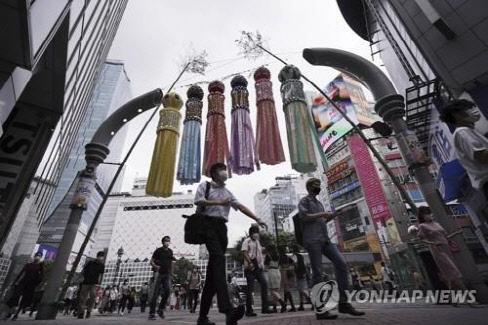 일본 7월 코로나 확진 1만7622명…누적치 절반 육박